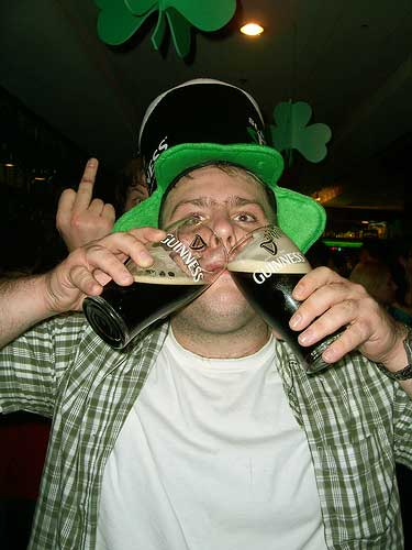 Image result for drunks st patricks day